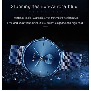 Luxury Analog Quartz Mens Watch Ultra Thin  watch